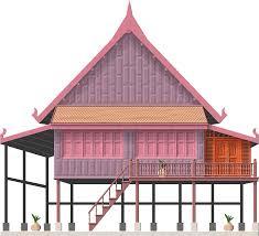 thai stilt house by herbertrocha deviantart com on deviantart