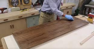 Peel And Stick Laminate Flooring Peel U0026 Stick Veneer How To Use Pressure Sensitive Veneer Jon