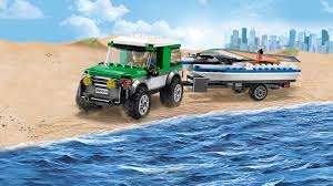 lego city jeep 60149 4x4 with catamaran lego city products and sets lego com