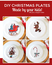christmas dishes diy your own christmas dishes with just a sharpie marker