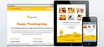 Thanksgiving Mail To Free Responsive Email Template Thanksgiving Theme
