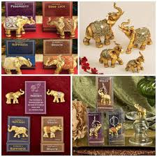 traditional indian wedding favors hotref luck decorative gold elephant wedding favors