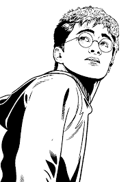 kids n fun com 24 coloring pages of harry potter and the order