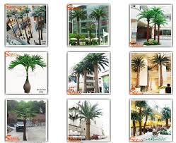 size miniature plastic palm tree artificial palm for indoor