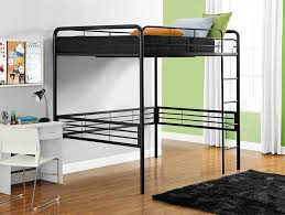 white full size metal loft bed special full size metal loft bed