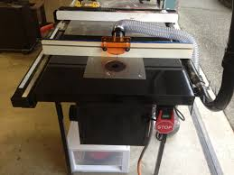 Bench Dog Router Table Review Sawstop Revisited U2013 Router Table Modern Classics U2013 Custom