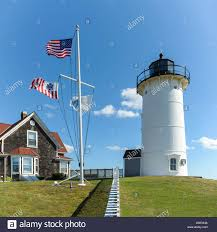 nobska point lighthouse american massachusetts and coast guard