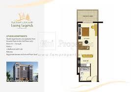 28 floor plan studio type tira tiraa studio type a b c floor plan studio type tanmiyat living legends floor plan