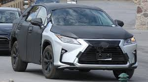 lexus rx reddit lexus rx three row crossover spied for a second time