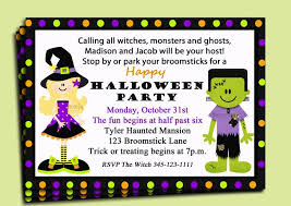 halloween outstanding halloween party invitations free printable