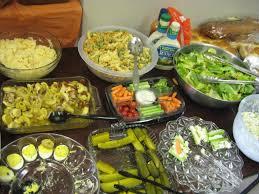 thanksgiving dinner spread fsn thanksgiving 2012
