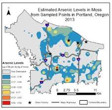map shows arsenic pollution in five more portland neighborhoods