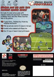 Backyard Football 2002 Cheats Disney Sports Football Box Shot For Gamecube Gamefaqs