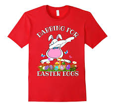 sports easter eggs dabbing bunny shirt easter eggs tshirt sports easter shirt td teedep