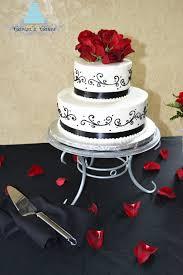 carisa u0027s cakes black and white wedding cake