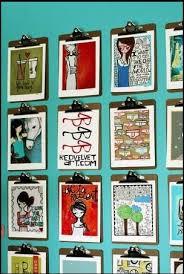 best 25 clipboard art ideas on pinterest display kids artwork