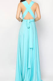 aqua blue bridesmaid dress infinity dress convertible dresses lg