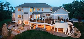 Trex Lighting Dc Metro Trex Decking Deck Traditional With Curved Decking