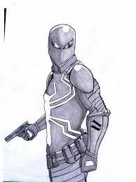 agent venom sketch by tigersakon on deviantart