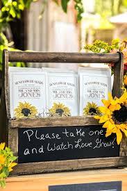 rustic wedding sayings wedding sayings for favors rustic sunflower wedding favors