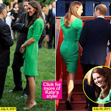 kate middleton repeats green diane von furstenberg for zara