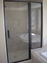 Cardinal Shower Door by Semi Frameless Shower Doors By Tj