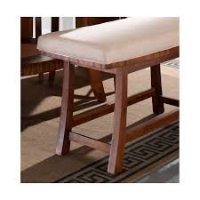 counter height gathering table bench somerton dwelling milan counter height bench storage l