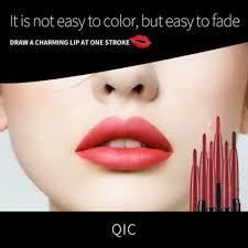 new women waterproof drawing lip liner pencil lipstick lips