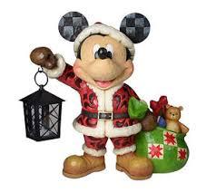 Jim Shore Christmas Ornaments Nz by Jim Shore Disney Christmas Santa Mickey W Lantern U0026 Bag Of Toys