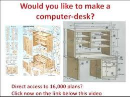 plans to build a computer desk image of computer desk plans to