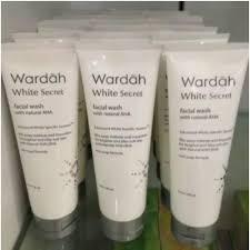 Sabun Muka Wardah wardah white secret wash sabun muka wardah elevenia