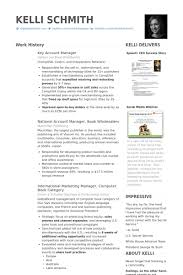 key account manager resume samples visualcv resume samples database