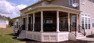csp porches decks and patios in northern virginia fairfax