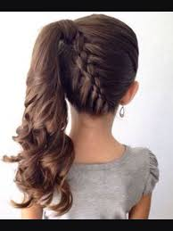 hair braided into pony tail 435 best hairstyles images on pinterest hairstyle ideas wedding
