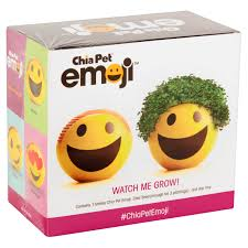 as seen on tv chia pet emoji smiley walmart com