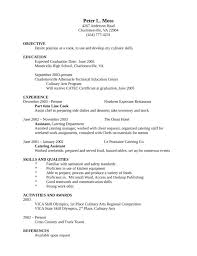 entry level chef resume sous chef resume samples chef resume