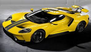 Yellow Mustang With Black Stripes 2017 Ford Gt Top 10 Color Combinations From The New Ford Gt