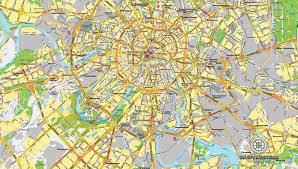 moscow russia map moscow schema 1 vector map russia printable and