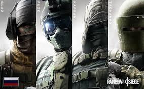 rainbow six siege spetsnaz operators fuze glaz kapkan