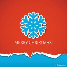 4 designer beautiful christmas card 05 vector material