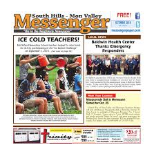 south hills mon valley messenger october 2014 by south hills mon