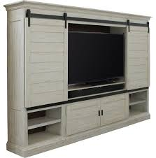 Parker Sideboard Parker House Chesapeake 4 Piece Sliding Door Entertainment Wall In