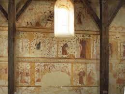 cote de texas want to build a castle a close up of the murals the artists at the castle decided not to portray humans or biblical figures at guedelon instead they only painted the flowers