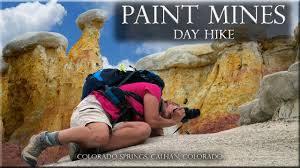 paint mines colorado springs calhan colorado day hike youtube