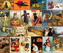 free antique halloween background vintage halloween collage twitter backgrounds pimp my profile com