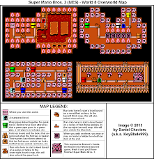 Super Mario World Map by Super Mario Bros 3 World 8 Overworld Map Png Neoseeker