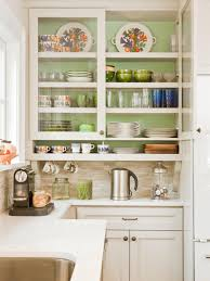 Kitchen Cabinets Glass Inserts Yellow Kitchen Cabinets Pictures Options Tips U0026 Ideas Hgtv