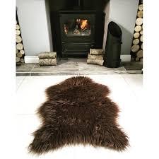 Faux Fur Sheepskin Rug Faux Sheepskin Rug Classic Faux Fur Sheepskin Rug In Ivory Pelt