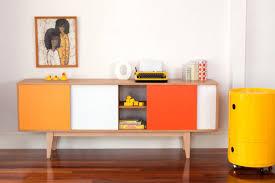 Midcentury Modern Buffet - s180 sideboard mid century modern entertainmnet unit vintage