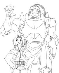 coloring download fullmetal alchemist coloring pages fullmetal